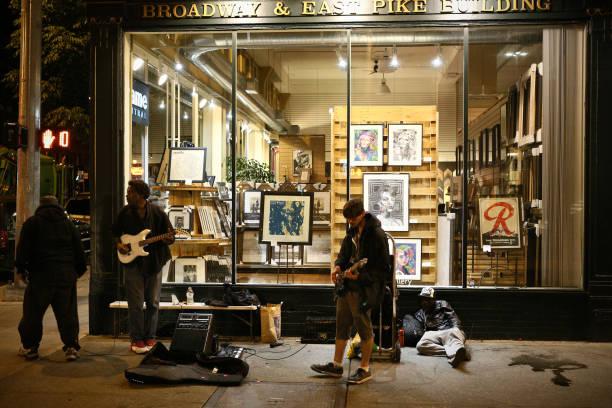 Seattle-Street band – Foto