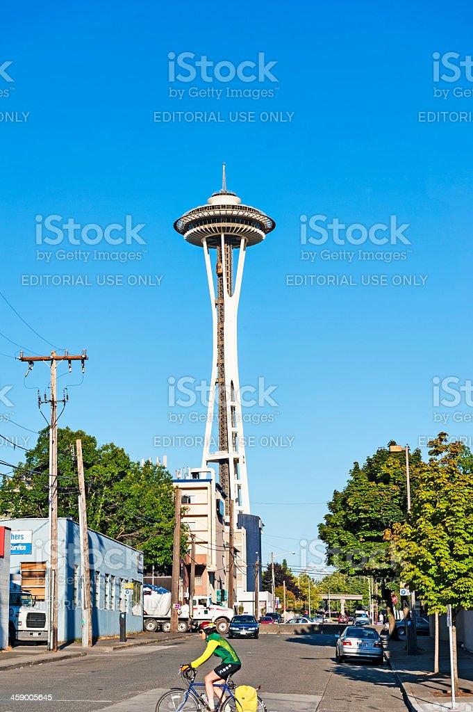 Seattle Street Views royalty-free stock photo