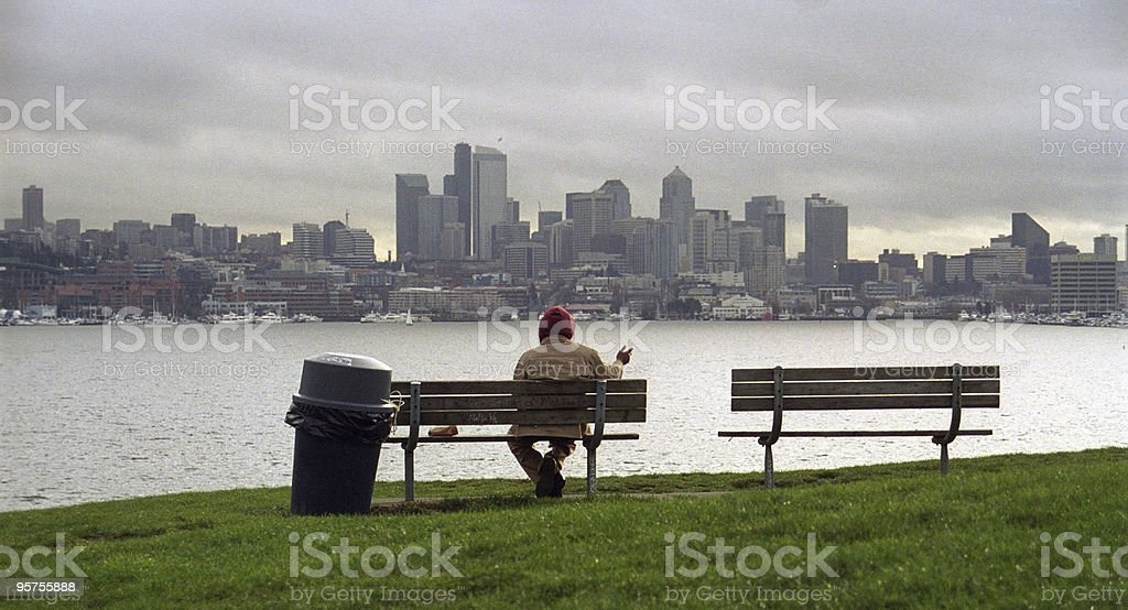 Seattle, USA stock photo