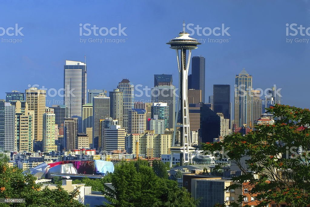 Seattle View stock photo