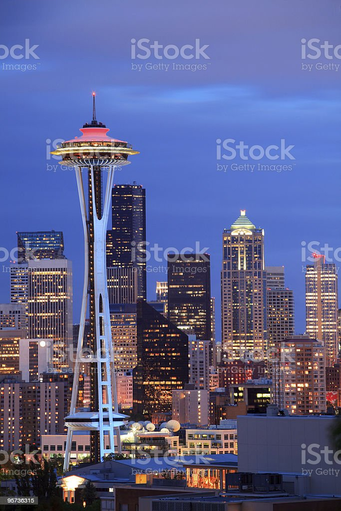 Seattle, WA stock photo