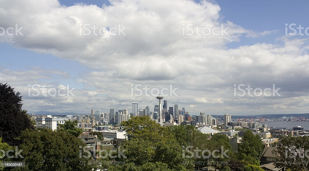 Seattle, Washington City Skyline stock photo