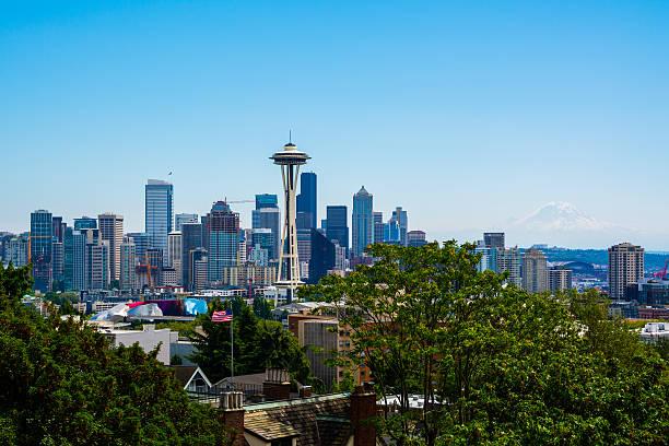 Seattle Washington stock photo