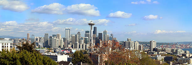 Seattle, Washington, USA stock photo