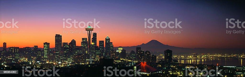 Seattle, Washington, USA royalty-free stock photo