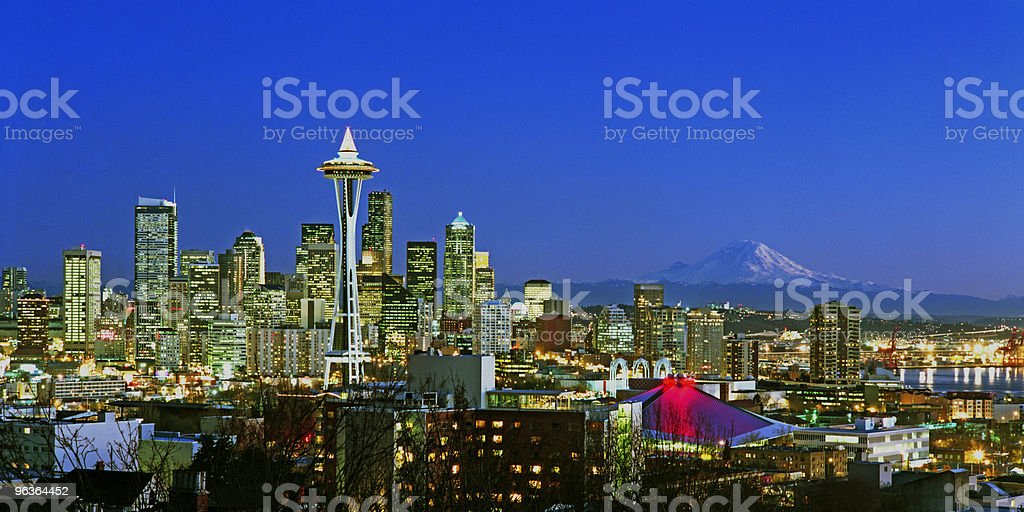 Seattle, Washington, USA royalty-free stock photo