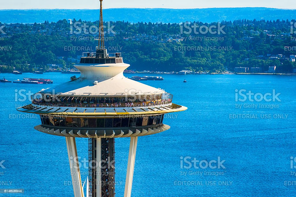 Seattle's Space Needle stock photo