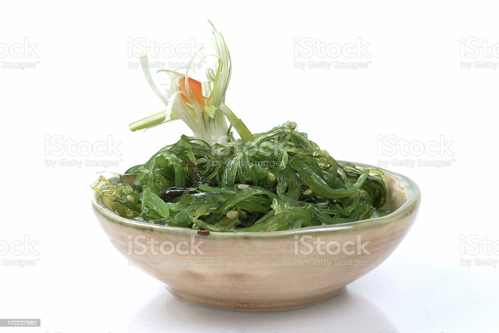 Seaweed Salad royalty-free stock photo