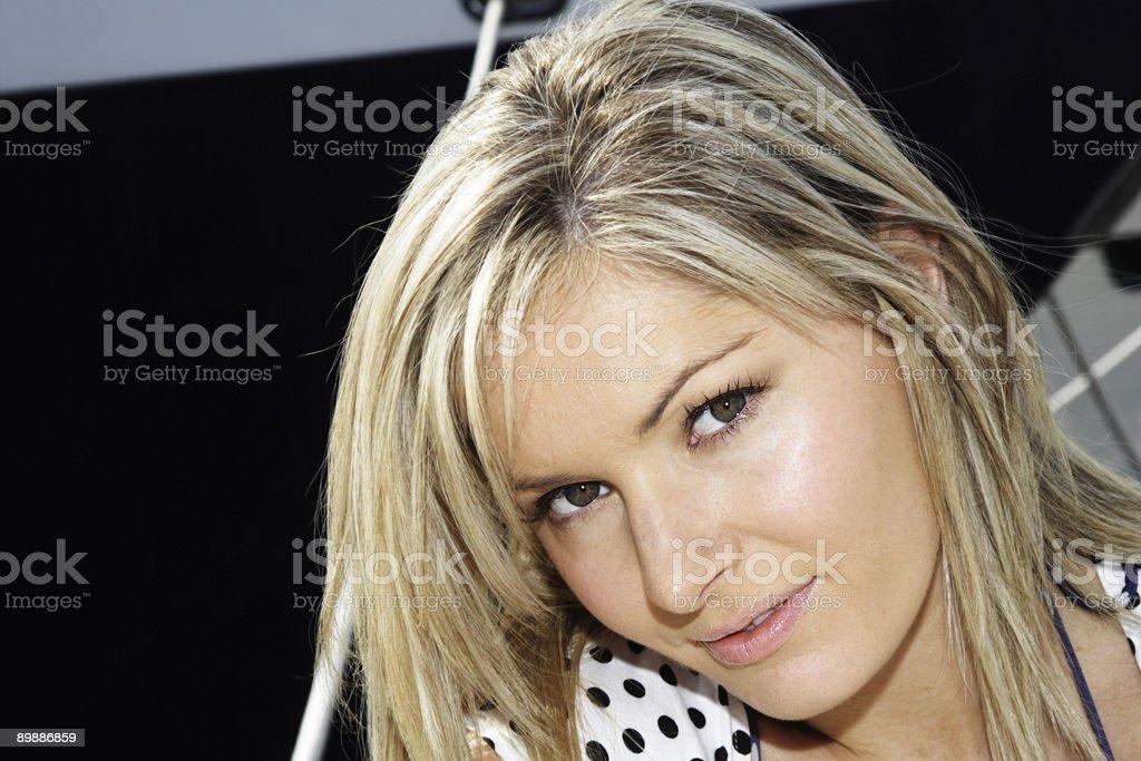 seaworthy woman royalty-free stock photo
