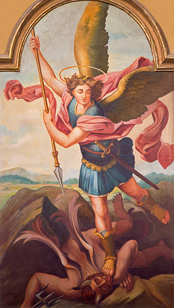 Archangel Michael Stock Photos, Pictures & Royalty-Free ...