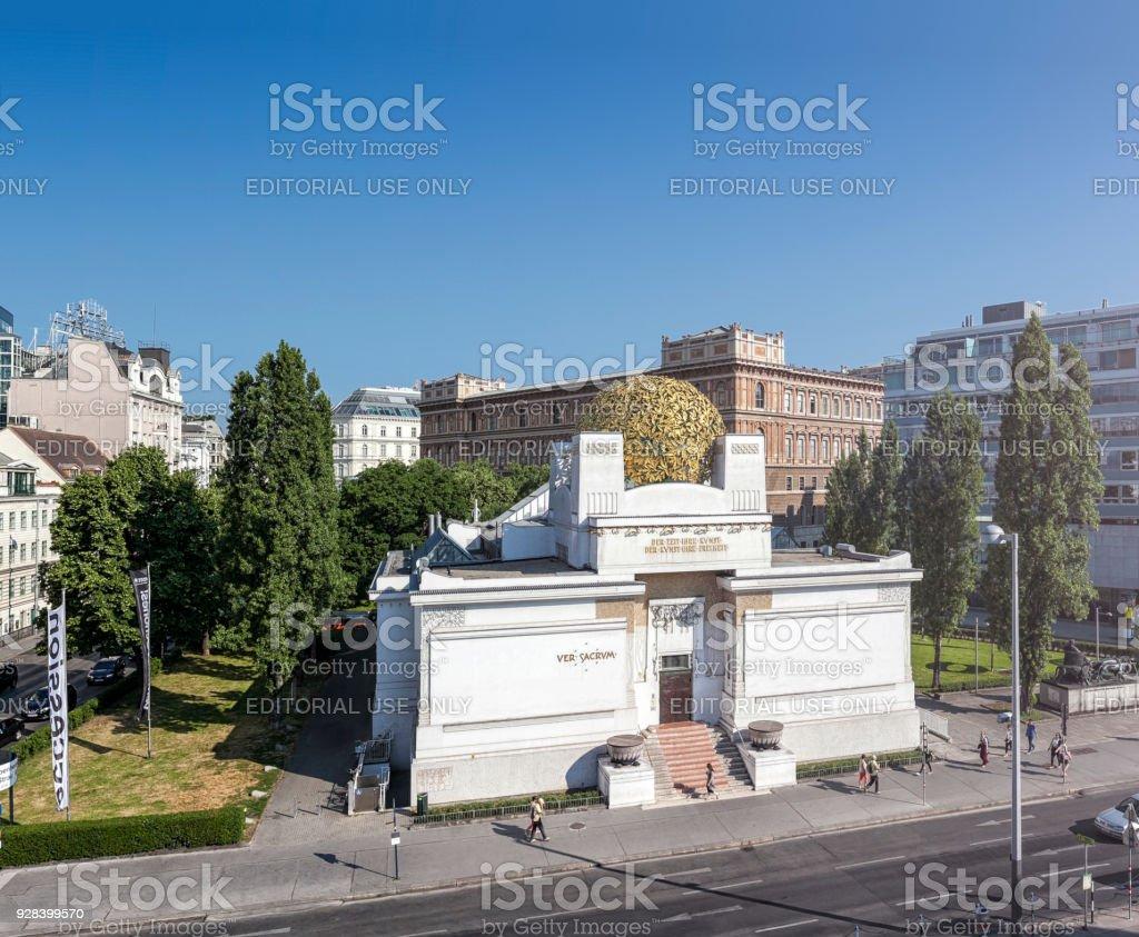 Sezession Gebäude Halle für zeitgenössische Kunst Wien – Foto
