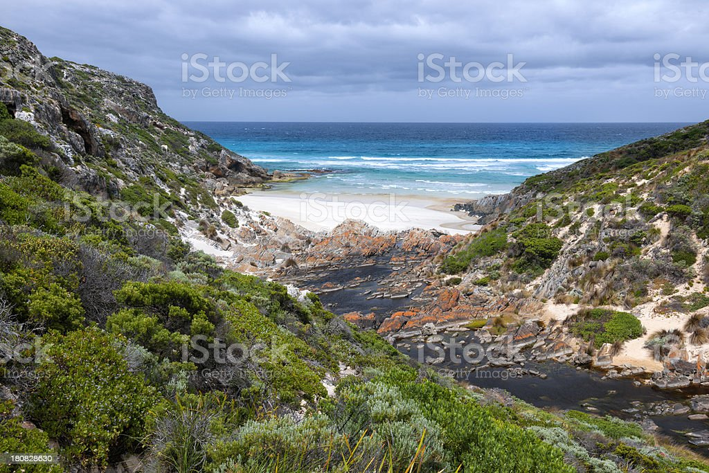Secluded Bay, Kangaroo Island, Australia stock photo