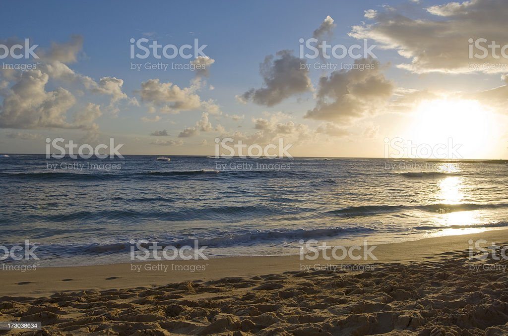 Secluded Beach in Paradise royalty-free stock photo