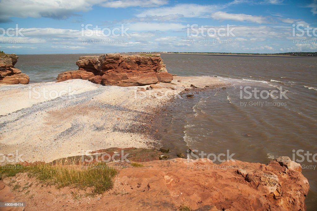 Secluded Beach royalty-free stock photo
