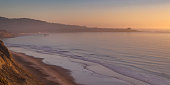 istock Secluded Blacks Beach in San Diego at sunset 1042765992