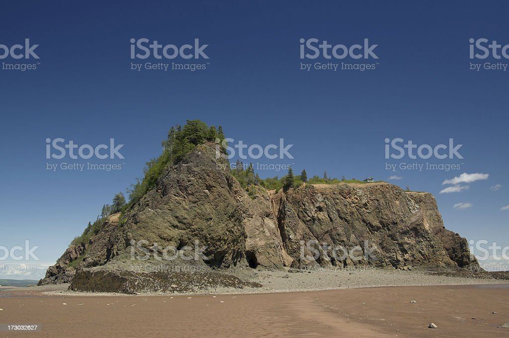 Secluded Island royalty-free stock photo