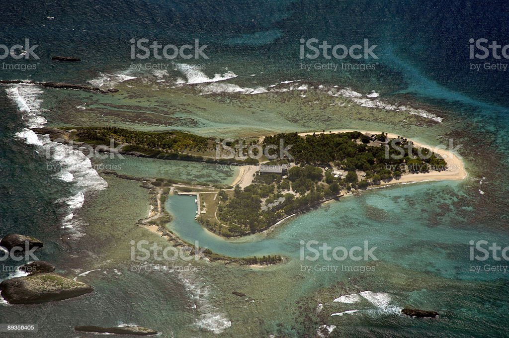 Secluded, island royalty free stockfoto