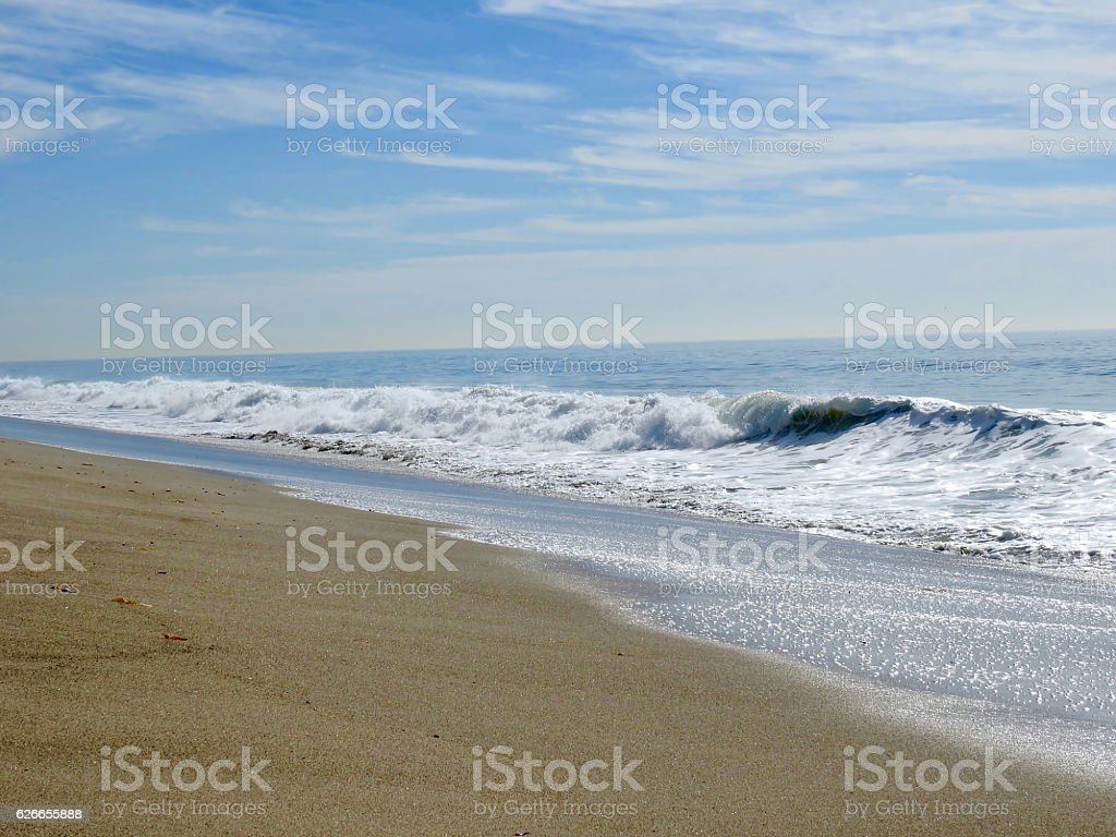 Secluded Sand stock photo