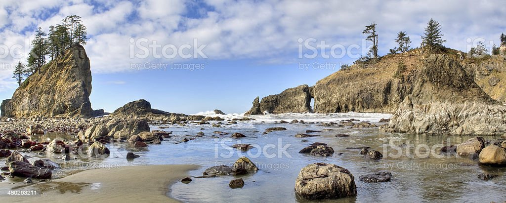 Second Beach stock photo