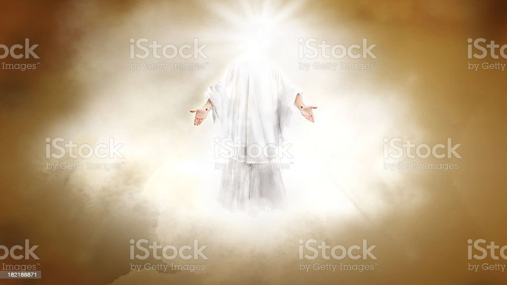 Second Coming (wider) stock photo