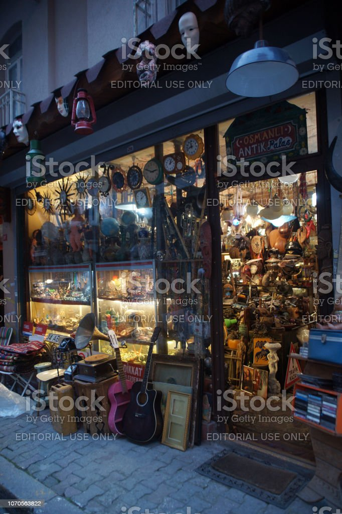 tienda de segunda mano-eskici - foto de stock