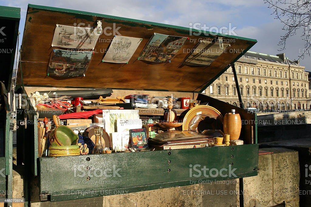 Second Hand Street Shop stock photo