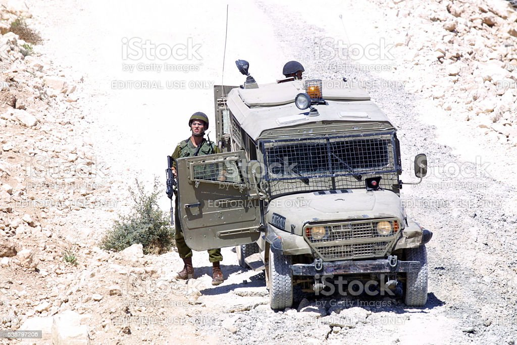 Second Intifada First Anniversary, Ramallah, October, 2001 stock photo
