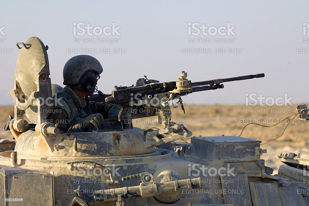 Second Intifada First Anniversary, West Bank, September, 2001 stock photo
