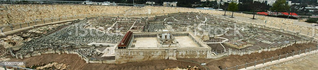 Second Temple stock photo