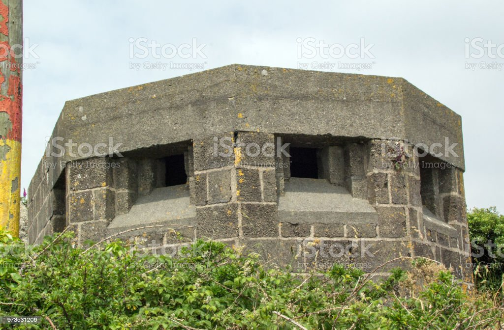 Second World War Lookout And Pill Box Porthcurno Cornwall Uk