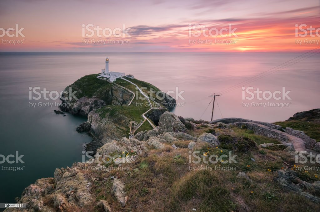 117 seconds of sunset stock photo