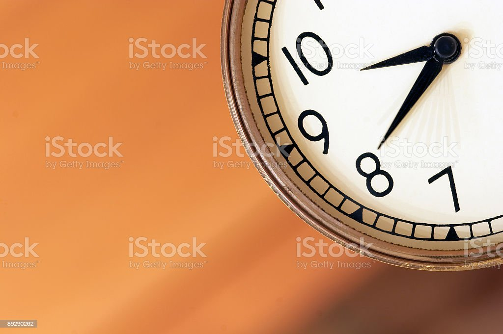 Seconds royalty-free stock photo