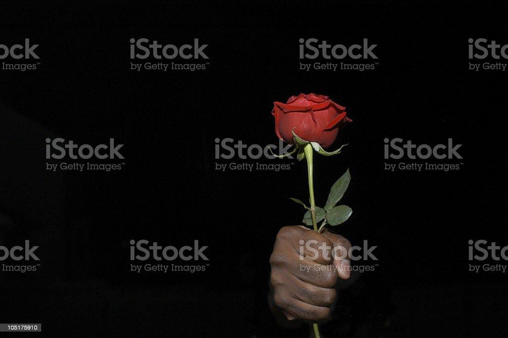 Secret admirer royalty-free stock photo