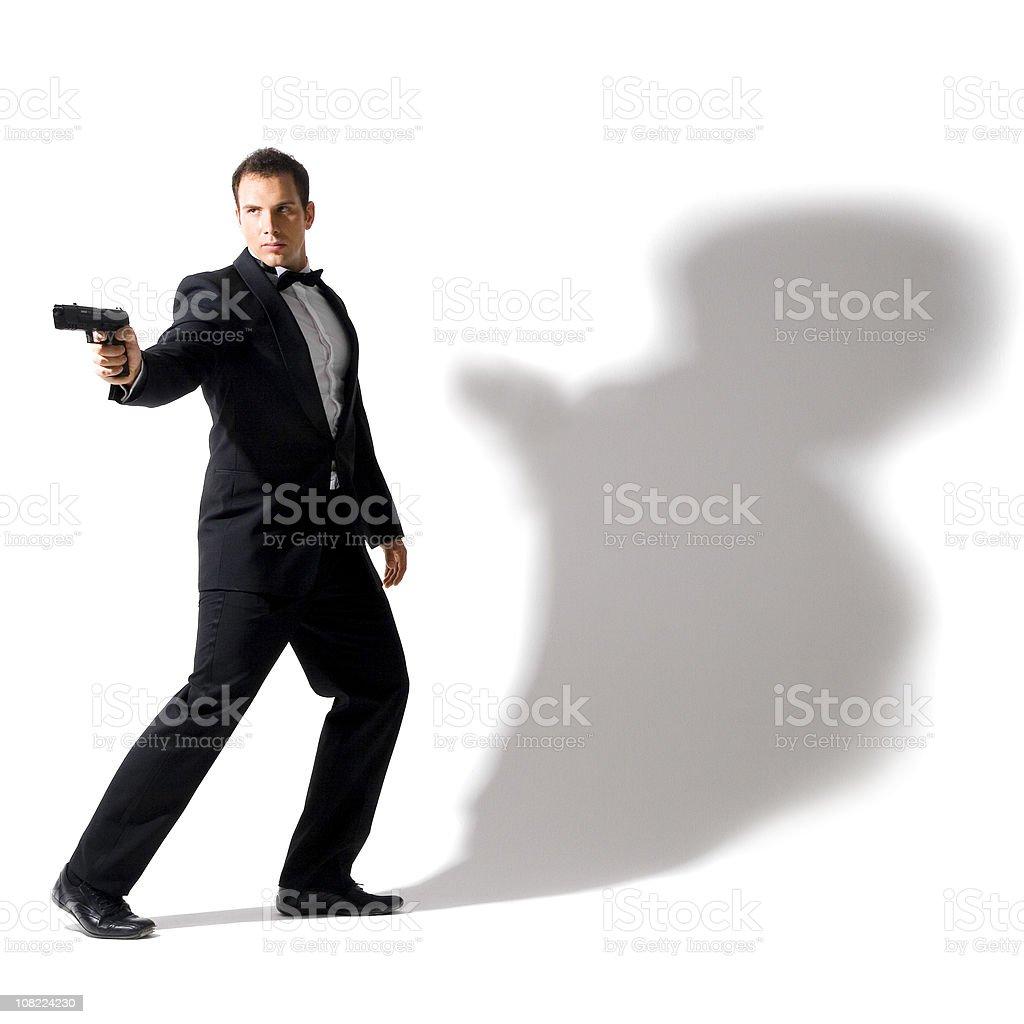 Agent Secret pour porter le smoking - Photo