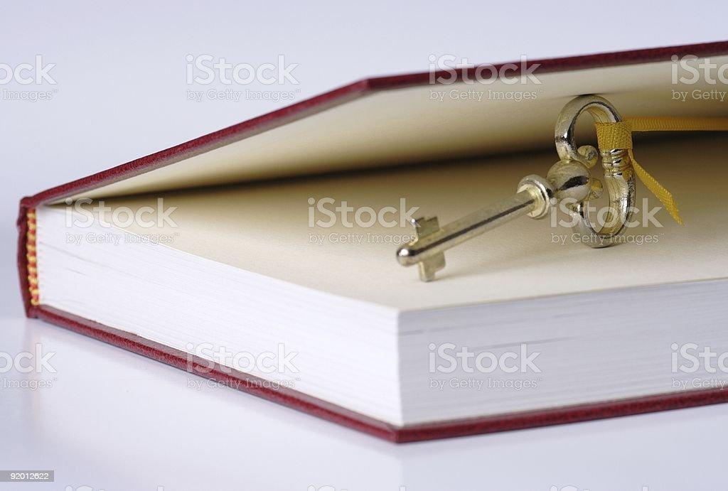 Secret book royalty-free stock photo