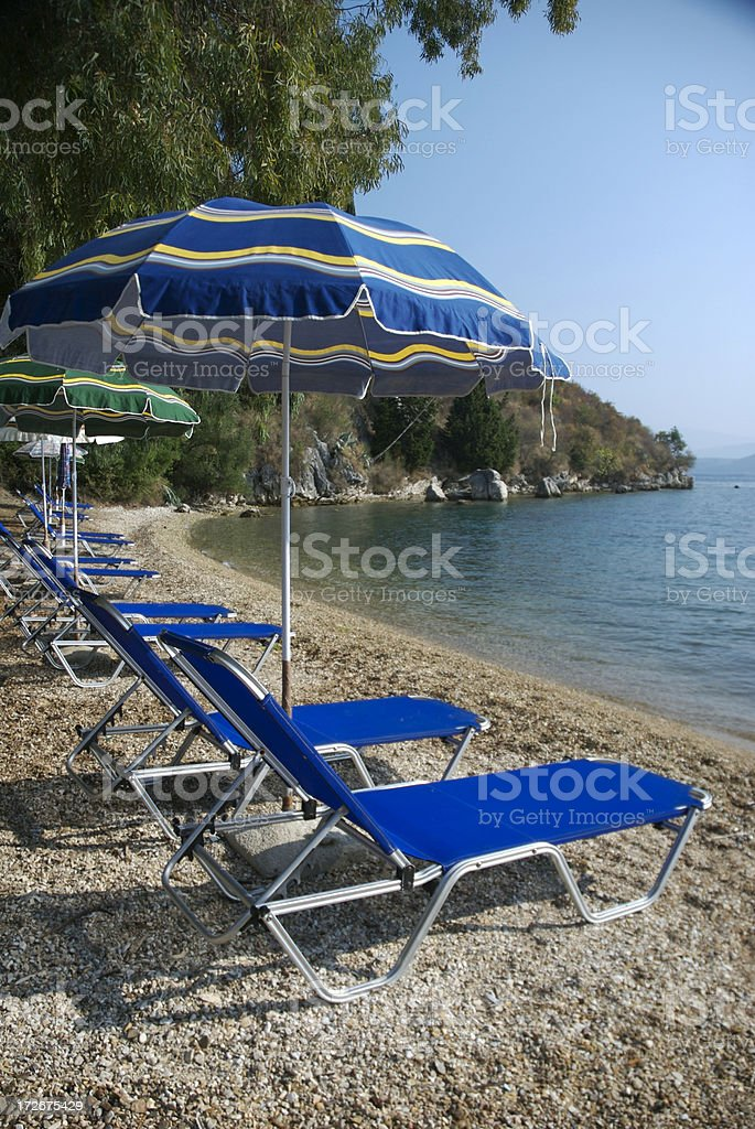 Secret Cove Greek Beach royalty-free stock photo