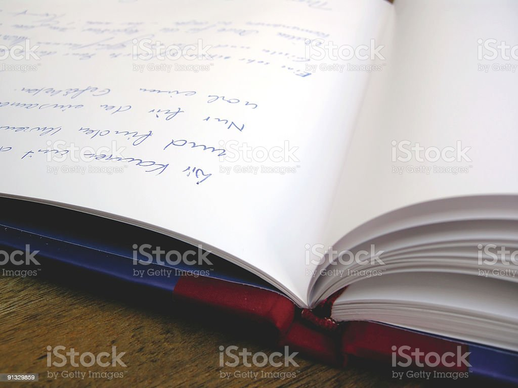 Secret Diary stock photo