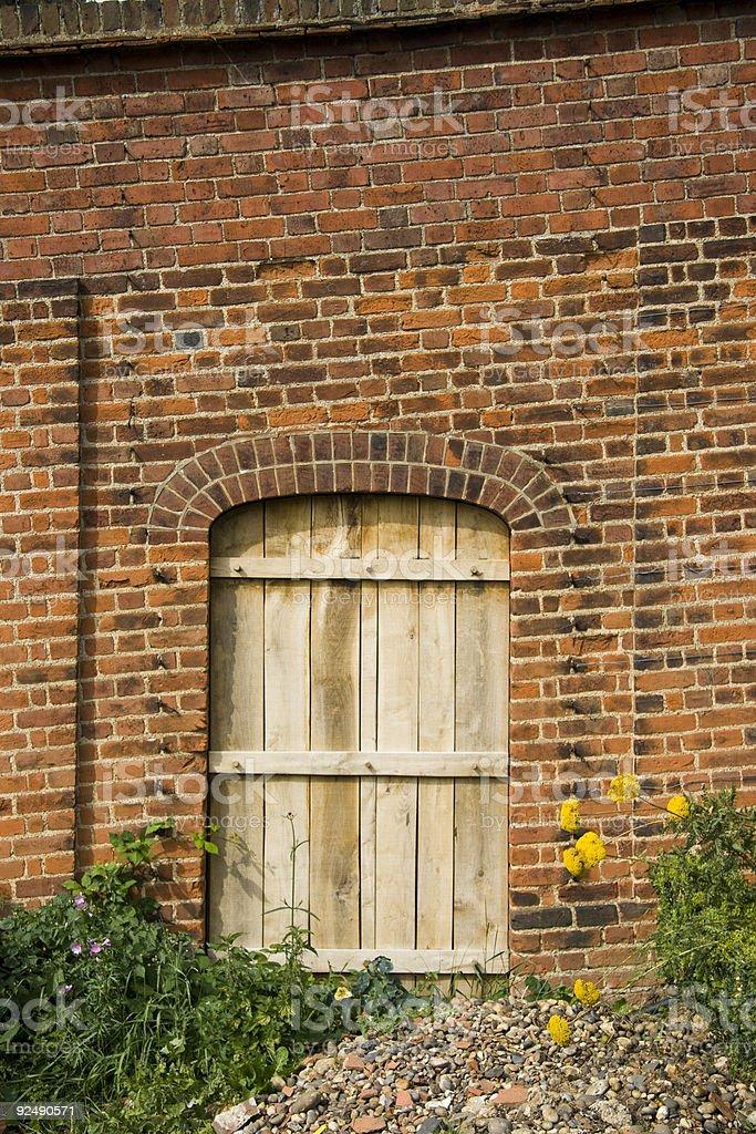 secret door royalty-free stock photo