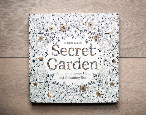 Secret Garden - colouring book for adults