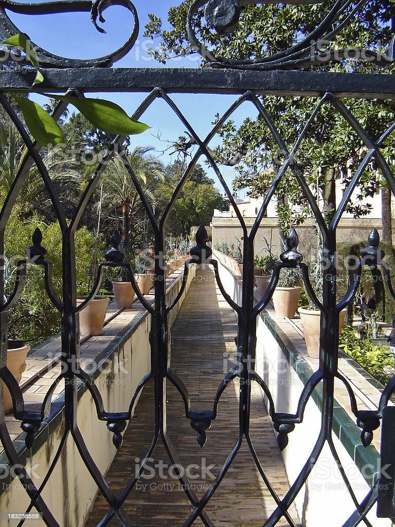 Secret Garden royalty-free stock photo