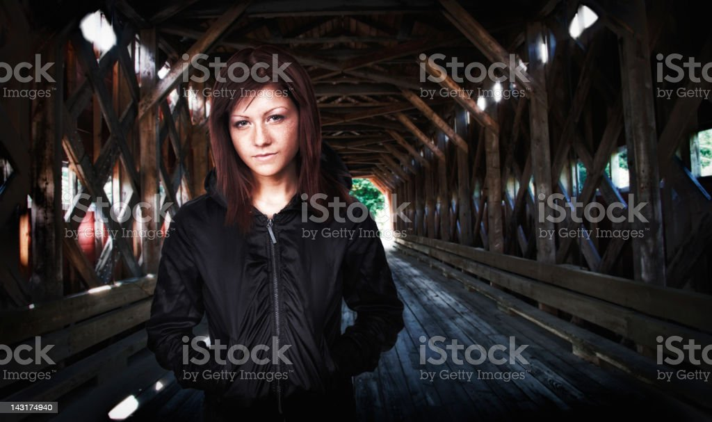 Secret Rendez-Vous royalty-free stock photo