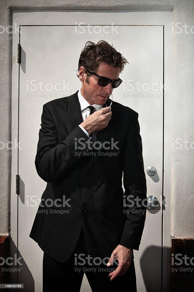 Serect service man