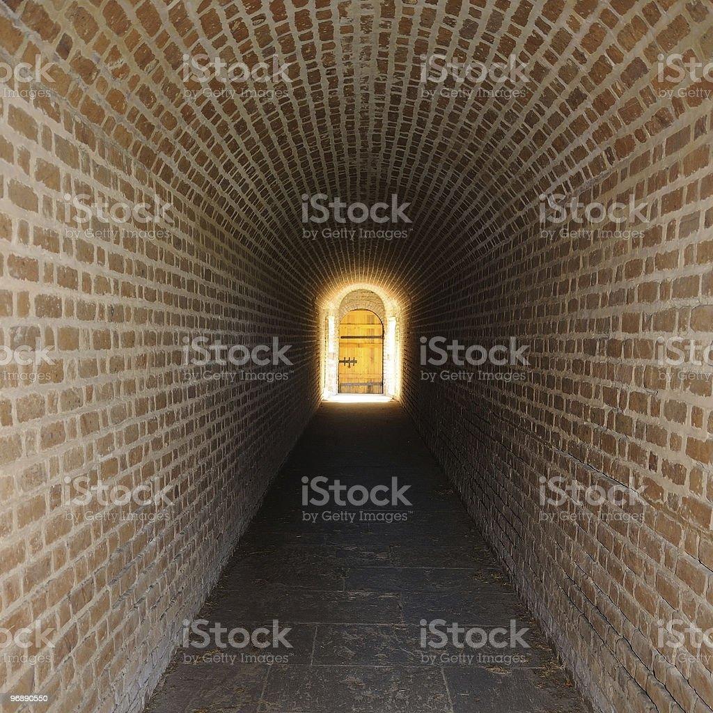 ... Secret Tunnel Leading to Magic Door stock photo ... & Magic Door Pictures Images and Stock Photos - iStock pezcame.com