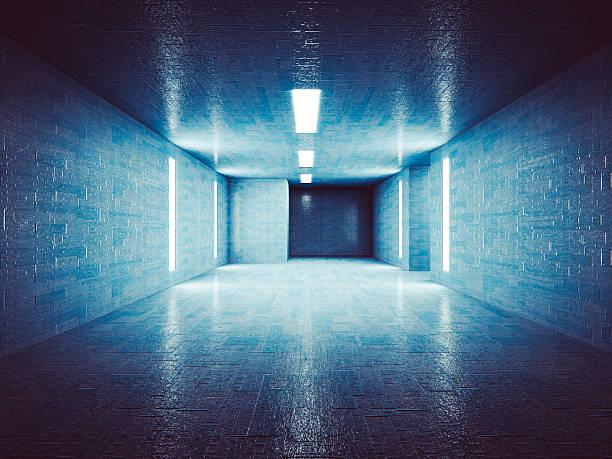 Secret underground corridor Secret underground corridor, bomb shelter stock pictures, royalty-free photos & images
