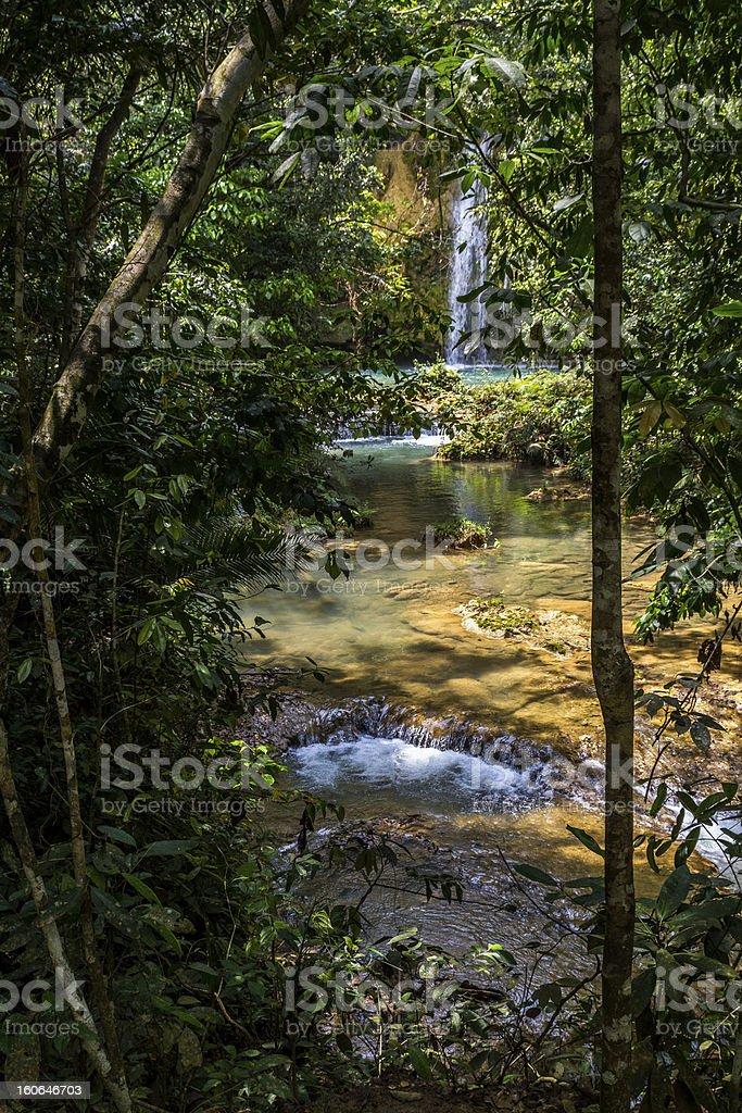 Secret Waterfalls royalty-free stock photo