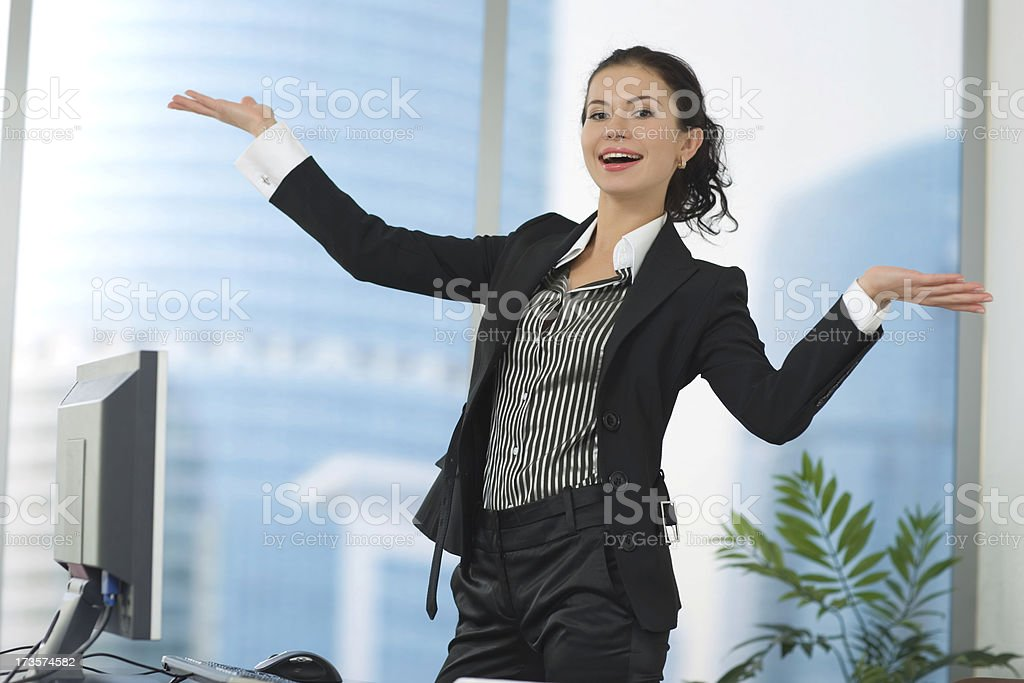 Secretary royalty-free stock photo