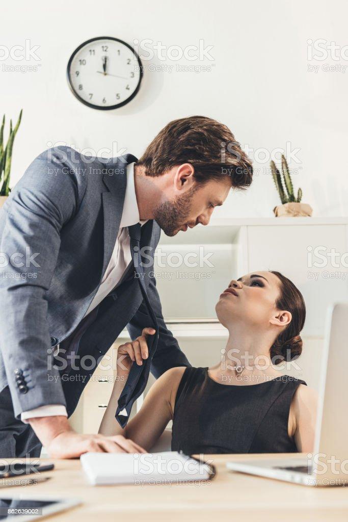 flirten mit chef