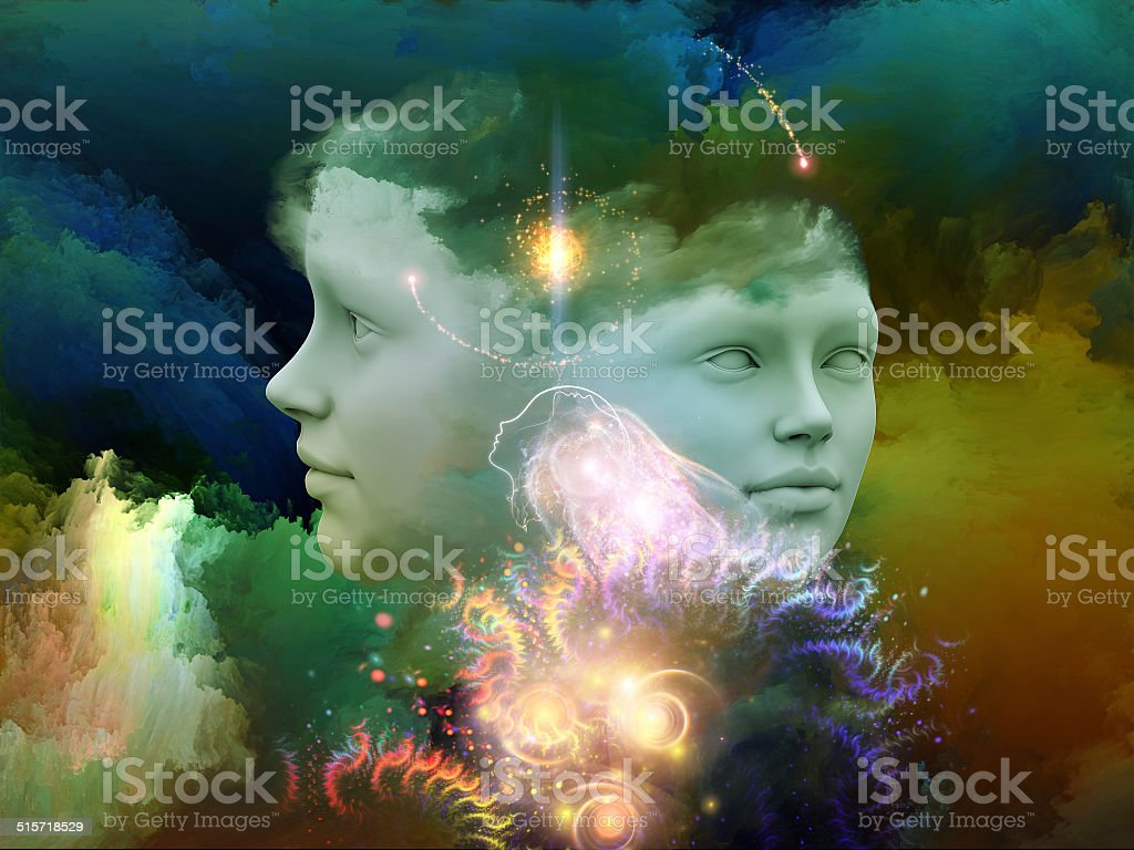 Secrets of the Mind stock photo