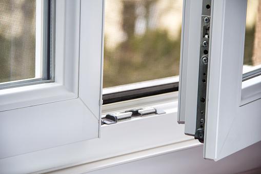 Secure Antitheft Burglarsproof Window Locking Mechanism - zdjęcia stockowe i więcej obrazów Bez ludzi
