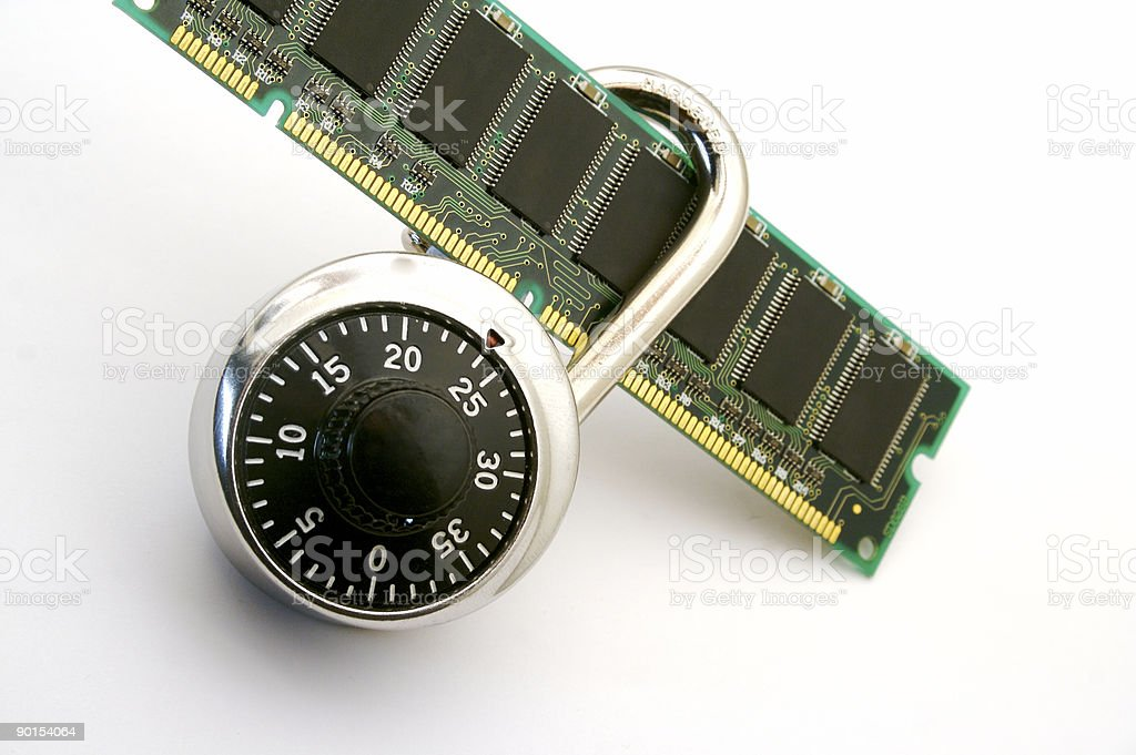 Secure Data royalty-free stock photo